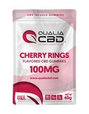 Hemp Infused Gummy Cherry Rings