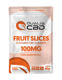 CBD-Infused Infused Gummy Fruit Slices