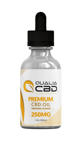 CBD Isolate Oil Tinctures from Qualia CBD