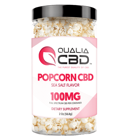 CBD POPCORN 100MG Sea Salt Flavor