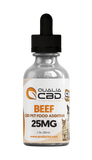 Qualia CBD Pet CBD Isolate Oil Tincture Beef
