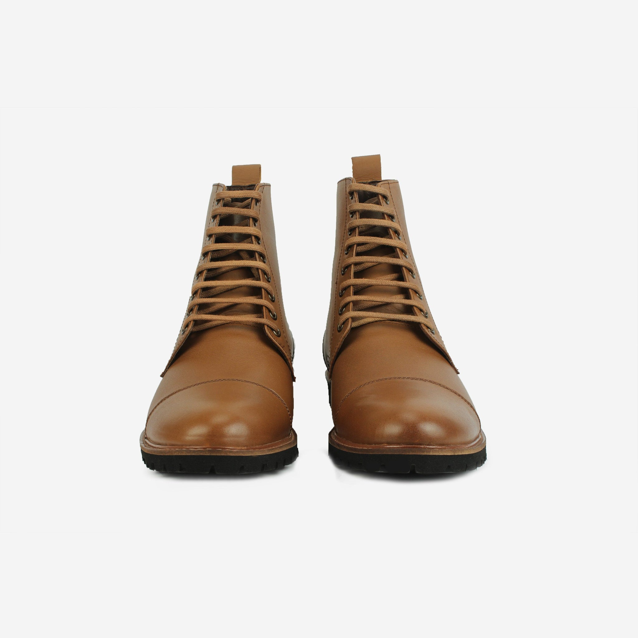 Holmes LaceUp Boot Brown Thebootsco