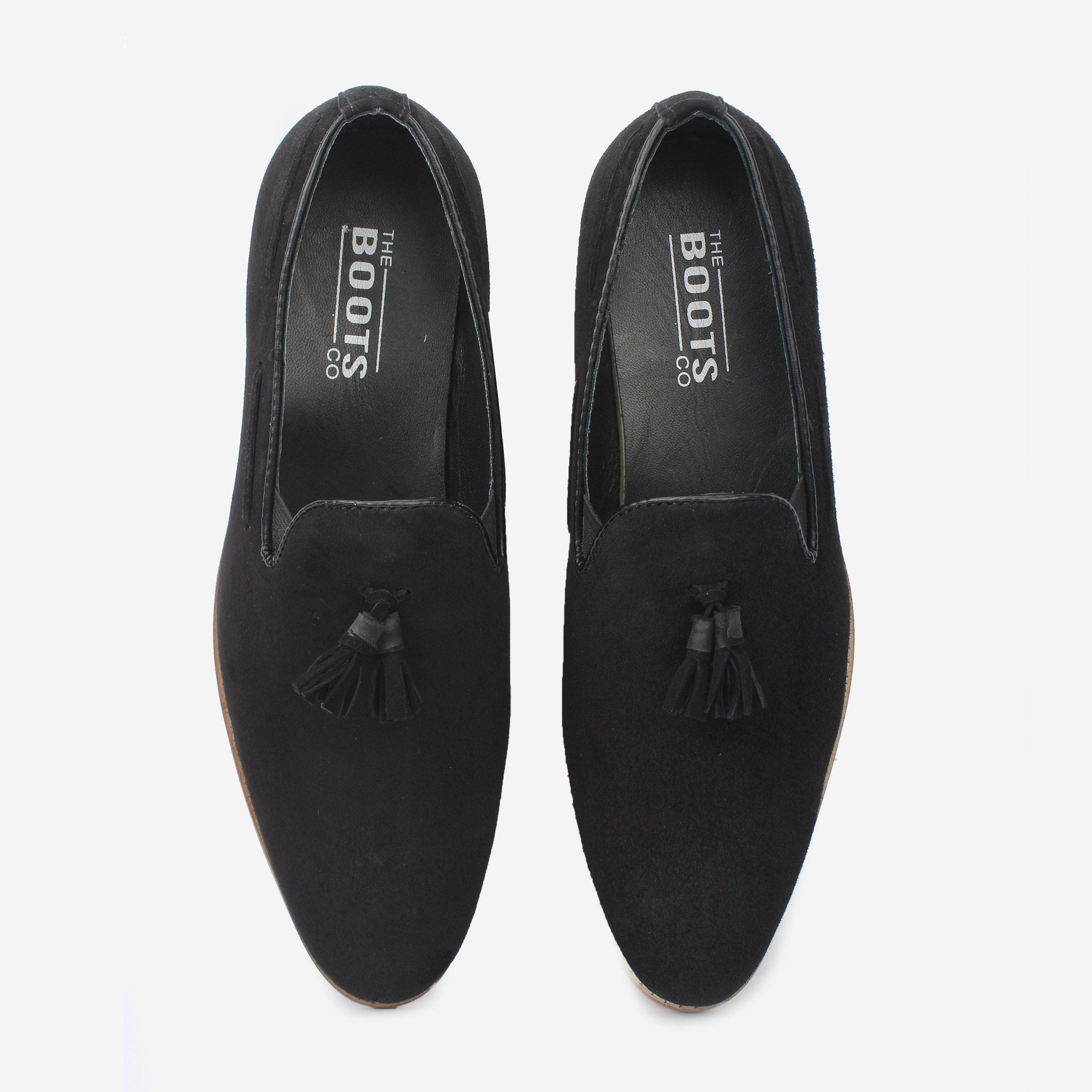 Jericho Loafer Black Thebootsco