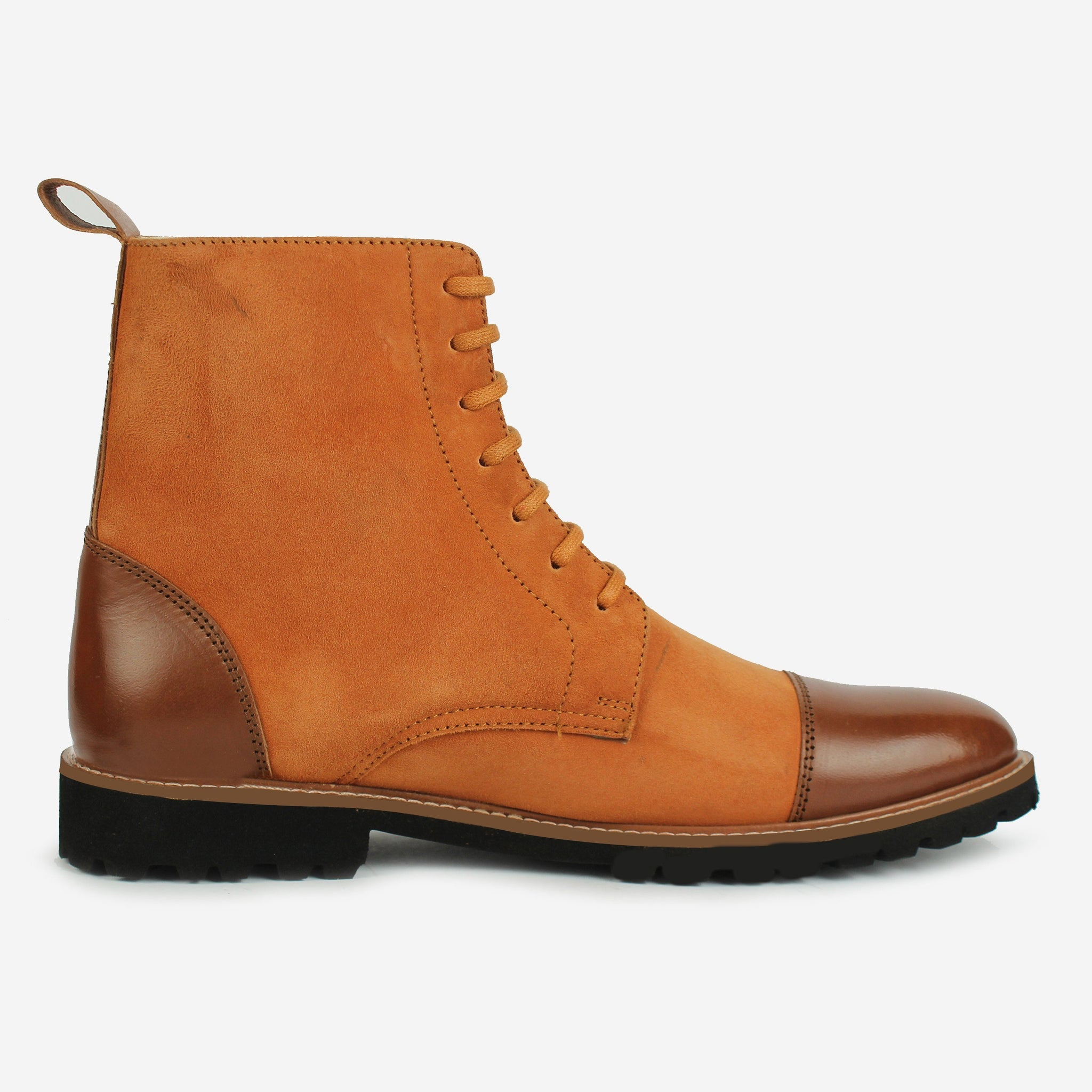 Oberon LaceUp Boot Brown Thebootsco