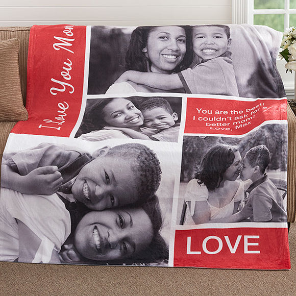 Personalized Fleece Blankets