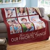 Personalized Premium Sherpa Blanket