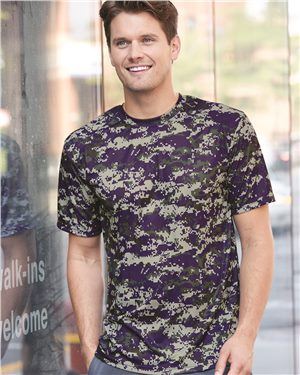 Badger - Digital Camo Short Sleeve T-Shirt - 4180