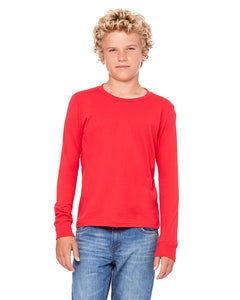 Bella + Canvas Youth Jersey Long-Sleeve T-Shirt 3501Y
