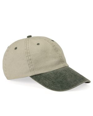 Mega Cap - Pigment Dyed Cotton Twill Cap - 7601