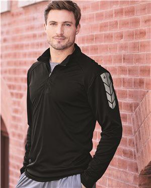 Badger - Metallic Print Core Performance 1/4 Zip - 4148