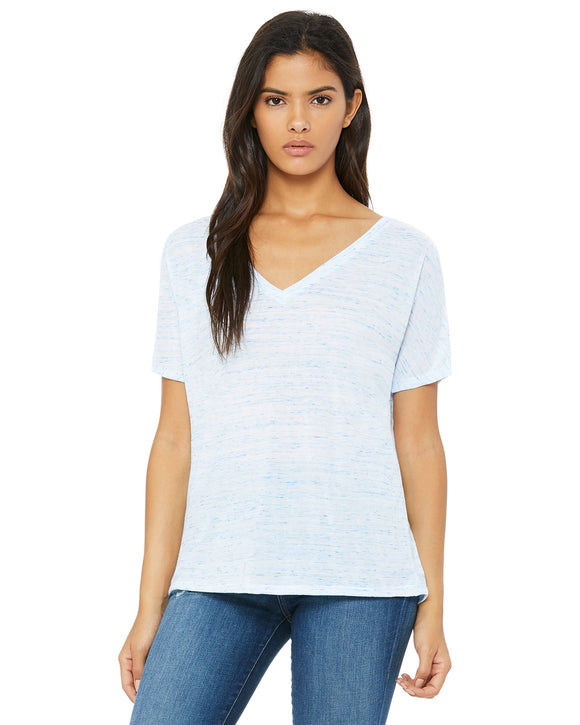 Bella + Canvas Ladies' Slouchy V-Neck T-Shirt 8815