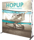 HOPUP STRAIGHT FULL HEIGHT TENSION FABRIC DISPLAY