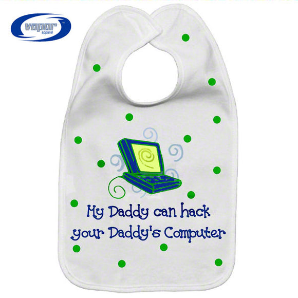 Blank Fleece Baby Bib - 8.75