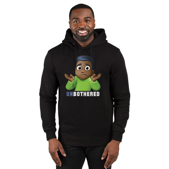 Male Unbothered Hooded Sweatshirt