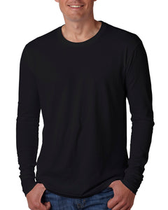 Next Level Men's Cotton Long-Sleeve Crew N3601