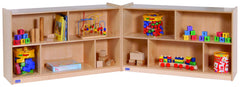 "30"" High Mobile Fold-N-Lock - Honor Roll Childcare Supply"