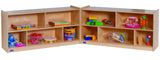 "24"" High Mobile Fold-N-Lock - Honor Roll Childcare Supply"