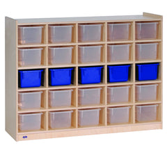 25-Tray Cubicle with Opaque Trays - Honor Roll Childcare Supply