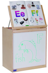 Big Book Storage | Whiteboard Front - Honor Roll Childcare Supply