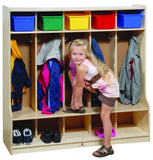 Five Section Locker - Honor Roll Childcare Supply