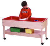 Sand and Water Table with Shelf - Honor Roll Childcare Supply