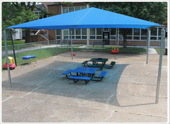 12' x 20' Stand Alone Shade Structure - Honor Roll Childcare Supply