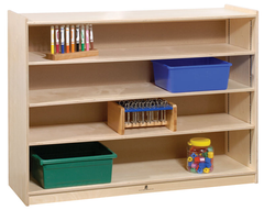 Adjustable Shelf Storage - Honor Roll Childcare Supply