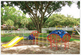 Funscape w/Plastic Slide - Honor Roll Childcare Supply