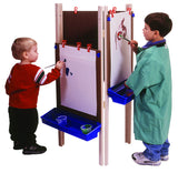 3-Station Adjustable Easel - Honor Roll Childcare Supply