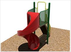 Independent Spiral Slide - Honor Roll Childcare Supply