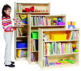Adjustable Shelf Bookcases - Honor Roll Childcare Supply