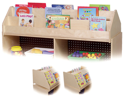Book Display Cabinet Top Organizer - Honor Roll Childcare Supply