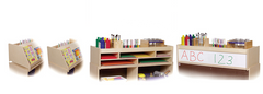 2-Shelf Cabinet Top Organizer - Honor Roll Childcare Supply