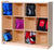 12 Section - Cubby Storage - Honor Roll Childcare Supply