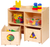 2-Section Storage with Mobile Carts - Honor Roll Childcare Supply