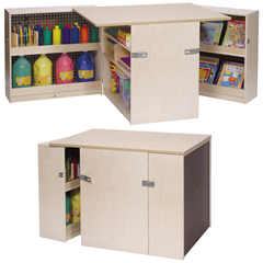 Mobile Activity/Storage Island - Honor Roll Childcare Supply