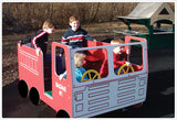 Fire Truck Multi Spring Rider - Honor Roll Childcare Supply
