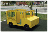 School Bus Multi Spring Rider - Honor Roll Childcare Supply