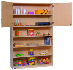 Multi-Purpose Storage with Shelves - Honor Roll Childcare Supply