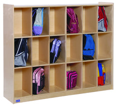 18 Section - Cubby Storage