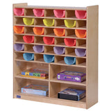 42 Compartment Mail & Storage Center - Honor Roll Childcare Supply