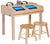 Double-Wide Single-Sided Technology Table - Honor Roll Childcare Supply