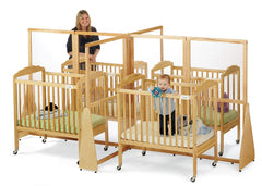 JONTI-CRAFT® SEE-THRU CRIB DIVIDER - QUAD - Honor Roll Childcare Supply