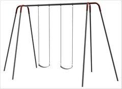 2 Seat,12' Heavy Duty Modern Tripod Swing - Honor Roll Childcare Supply