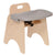 "11"" High Chair with Tray - Honor Roll Childcare Supply"