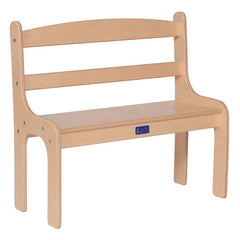"12"" Toddler Bench - Honor Roll Childcare Supply"