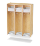 Jonti-Craft® 3 Section Hanging Locker - Honor Roll Childcare Supply