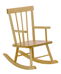 Solid Maple Child's Rocker - Honor Roll Childcare Supply