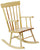 School Age Maple Rocker - Honor Roll Childcare Supply