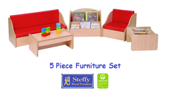 Steffy Furniture Set - 5 Piece - Honor Roll Childcare Supply